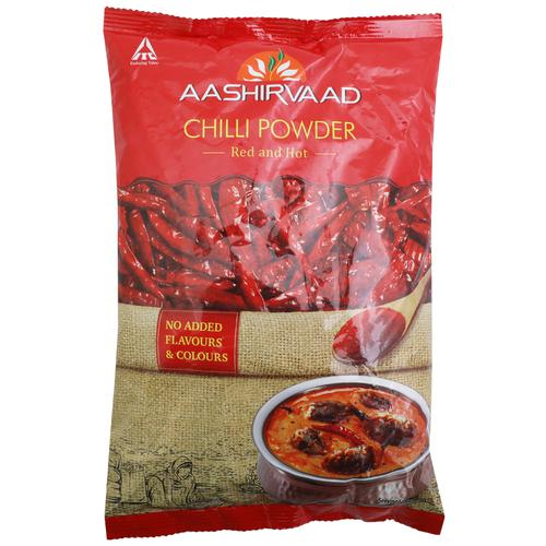 Aashirvaad Powder - Chilli, 500 g Pouch