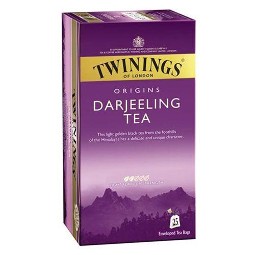 Twinings Tea - Origins Darjeeling, 25 Bags x 2 gm, Each 50 gm