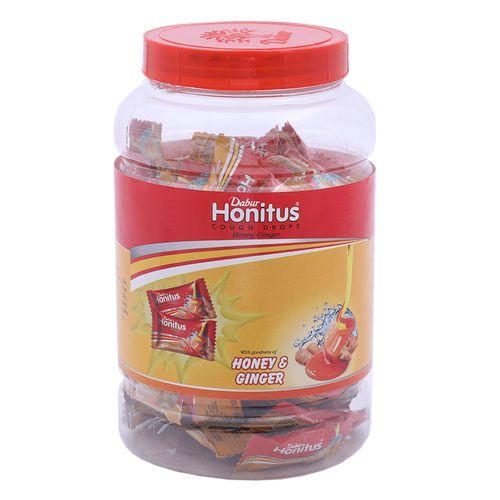Buy Dabur Honitus Ginger Cough Drops 100 Capsules Online