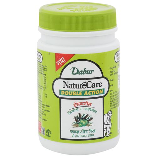 Dabur Nature Care Isabgol - Double Action (Relief from Constipation), 100 gm