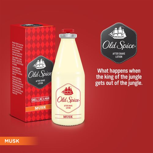 Old Spice Musk After Shave Lotion, 50 ml