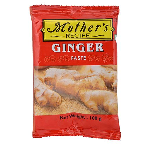 Mothers Recipe Paste - Ginger, 100 gm Pouch