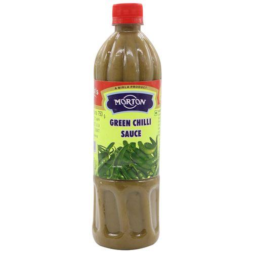 Morton Green Chilli Sauce, 750 gm