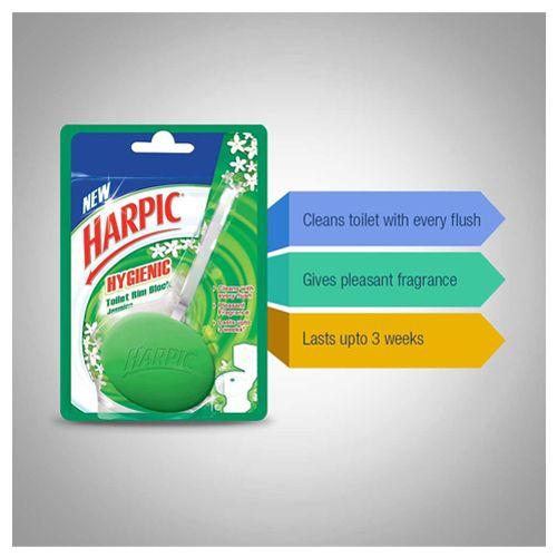 Buy Harpic Hygienic Toilet Rim Block Jasmine 26 Gm Online