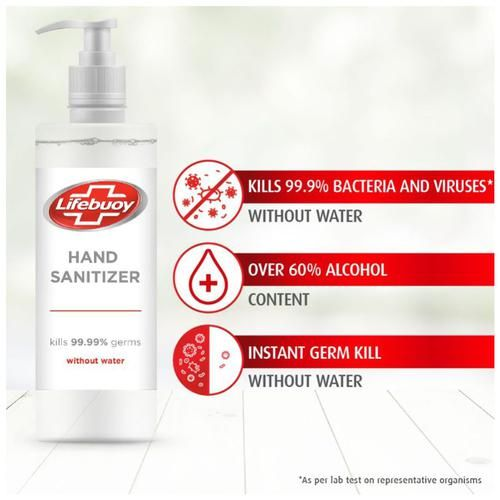 Lifebuoy Alcohol Based Hand Sanitizer, 50 ml Bottle