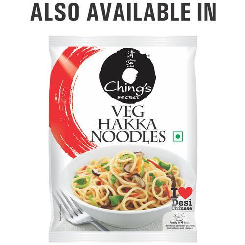 Chings Secret Egg Hakka Noodles, 150 g Pouch