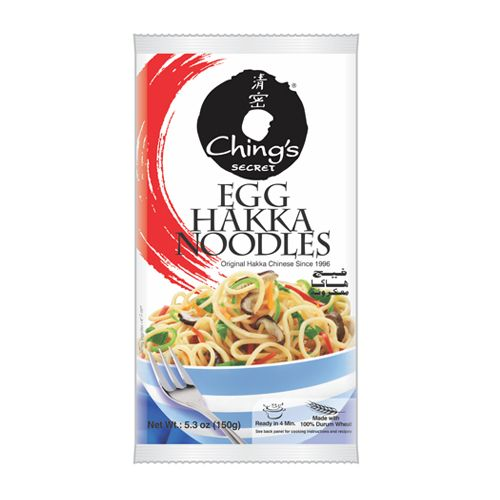 Chings Hakka Noodles - Egg, 150 gm Pouch