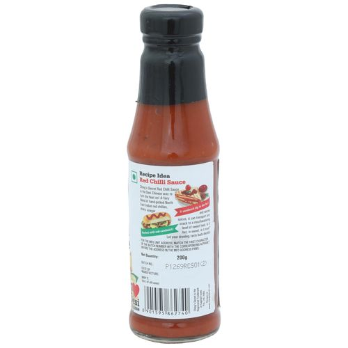 Chings Red Chilli Sauce, 200 g Bottle