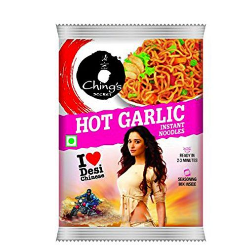 Chings Instant Noodles - Hot Garlic, 60 g Pouch