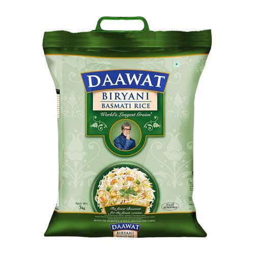 Daawat  Basmati Rice - Biryani, 5 kg Bag