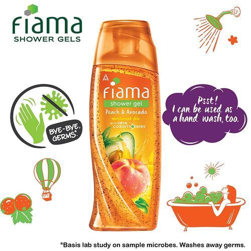 Fiama Shower Gel - Peach & Avocado, 250 ml