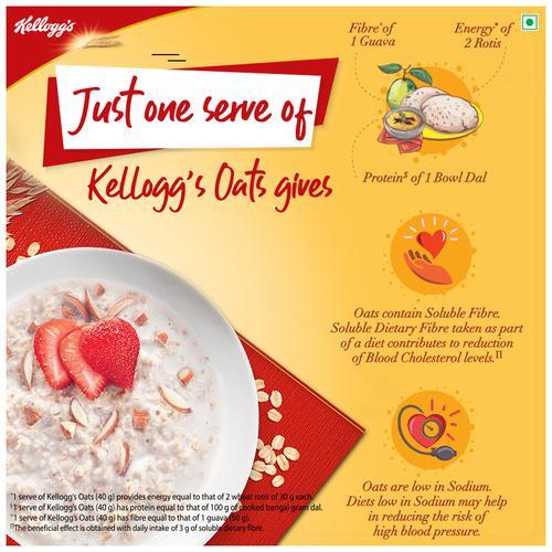 Kelloggs Heart to Heart Oats, 1 kg