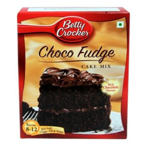 Betty Crocker Cake Mix - Choco Fudge Rich Chocolate, 475 g Carton