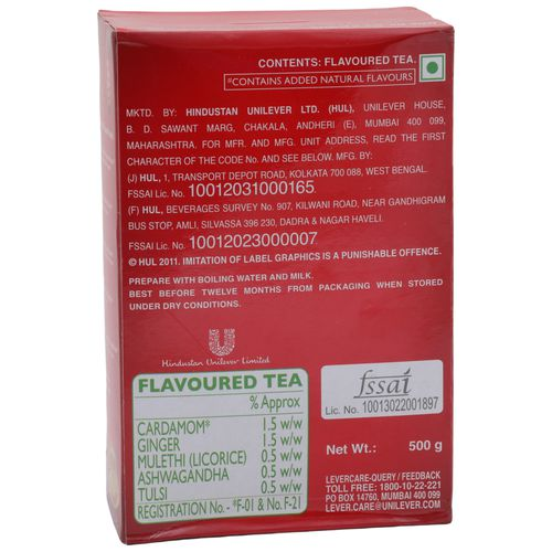 Buy Red Label Tea Natural Care 500 Gm Online At Best Price