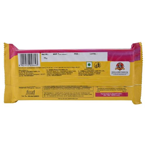 Dukes Wafers - Waffy (Strawberry Flavor), 75 g Pouch