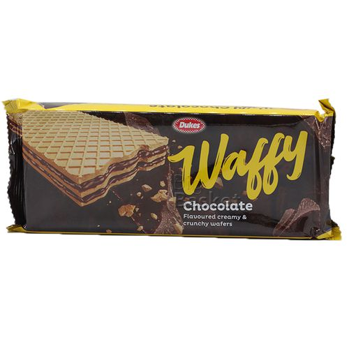 Dukes Wafers - Waffy (Chocolate Flavor), 75 g Pouch
