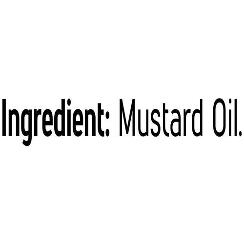 Fortune  Kachi Ghani Mustard Oil, 1 L Pet Bottle