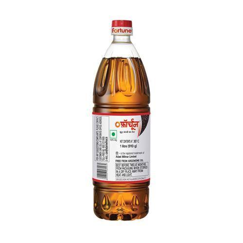 Fortune  Fortune Premium Kachi Ghani Pure Mustard Oil, 1L Pet Bottle
