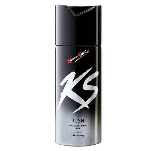 Kama Sutra Deodorant Spray - Rush for Men, 150 ml Bottle
