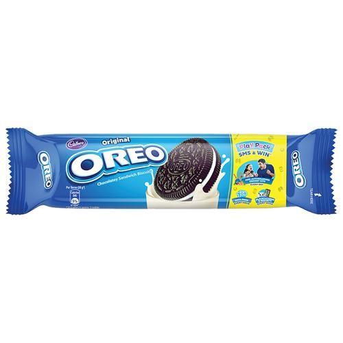 Cadbury Oreo Creme Biscuit - Vanilla, Original, 120 g