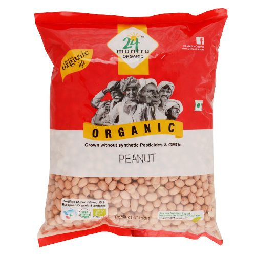 24 Mantra Organic - Peanut, 500 g Pouch