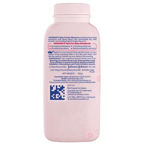 Johnson & Johnson Baby Powder - Blossoms, 100 g