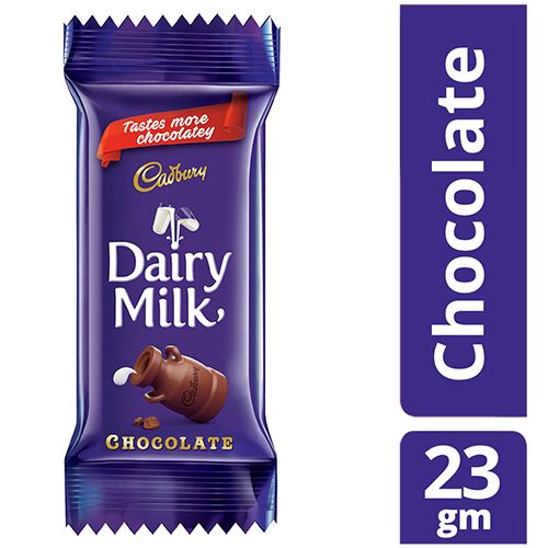 Buy Cadbury Dairy Milk Chocolate 23 Gm Pouch Online At Best Price