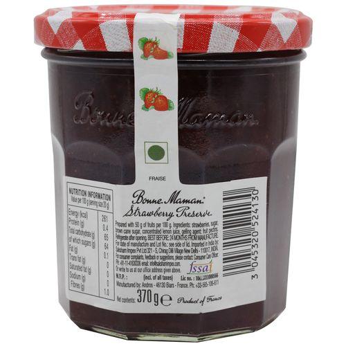Bonne Maman Preserve - Strawberry, 370 g Jar