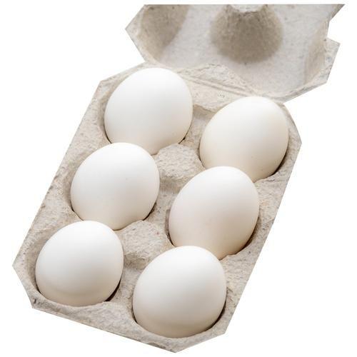 Fresho Farm Eggs - Regular, Medium, Antibiotic Residue-Free, 6 pcs
