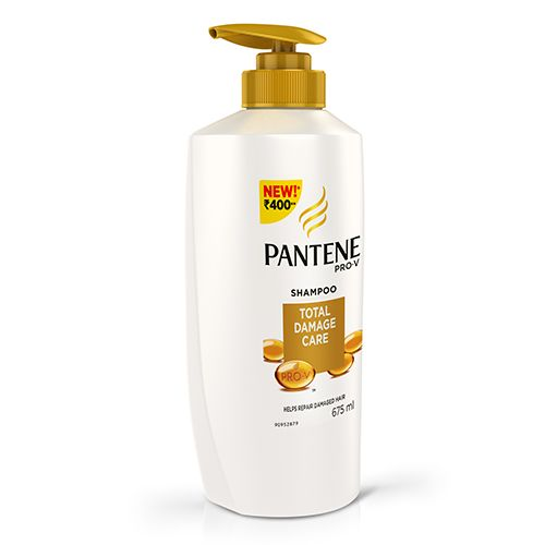 Pantene Shampoo - Total Damage Care, 675 ml