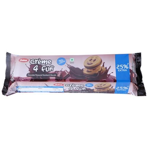 Dukes Chocolate Biscuits - Cream 4 Fun, 150 g Pouch