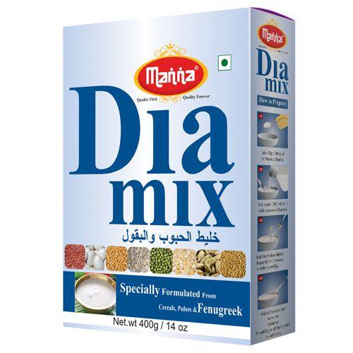 Manna  Dia Mix - Health Mix for Diabetics, 400 g Carton