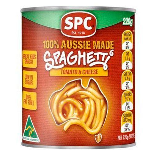 Spc Spaghetti - Tomato & Cheese, 400 g