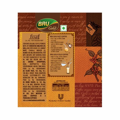Bru  Instant Coffee - Gold, 100 g