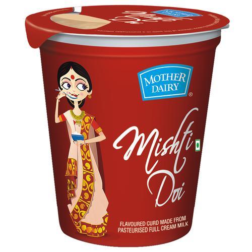 mother dairy Mishti Doi, 400 g Tub