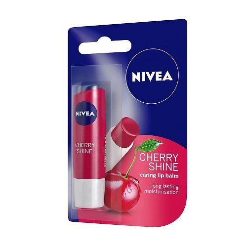 Nivea Cherry Shine Caring Lip Balm, 1 pc