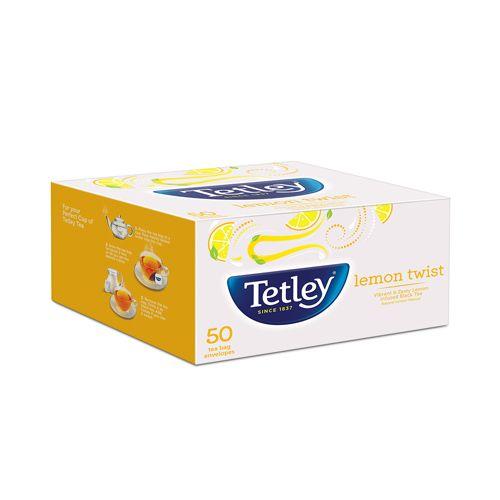 Tetley Tea - Lemon Twist, 50 Teabags