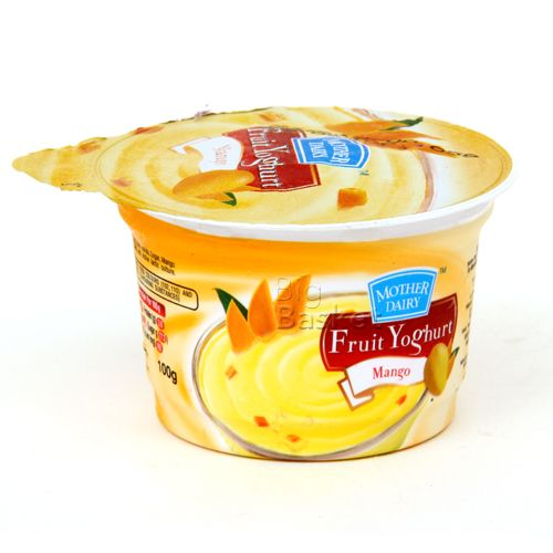 mother dairy Fruit Yoghurt - Mango, 100 g Cup