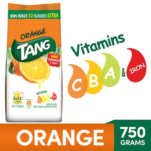 Tang Instant Drink Mix - Orange, 750 g Pouch