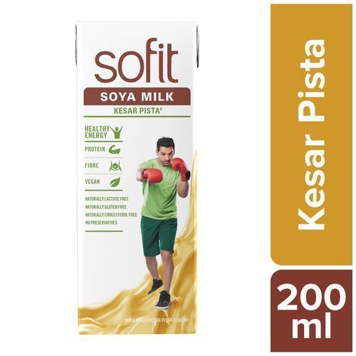 Sofit  Milk - Soya, Kesar Pista, 200 ml Carton