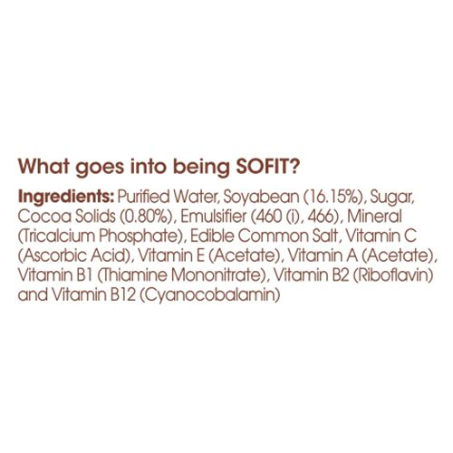 Sofit  Milk - Soya, Chocolate, 200 ml Carton
