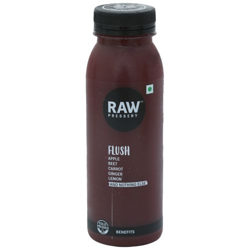 Raw Pressery 100% Natural Cold Pressed Juice -  Flush, 250 ml Bottle