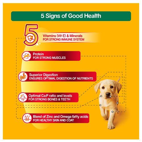 Buy Pedigree Daily Food For Puppy Milk Vegetables 1 2 Kg Online At Best Price Bigbasket