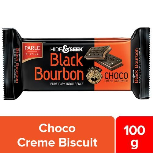 Parle Hide & Seek Black Bourbon - Choco, 100 g Pouch