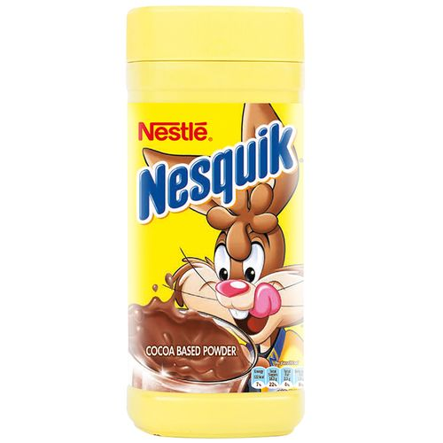 Nestle  Nesquik Cocoa Based Powder Drink Mix, 500 g Bottle
