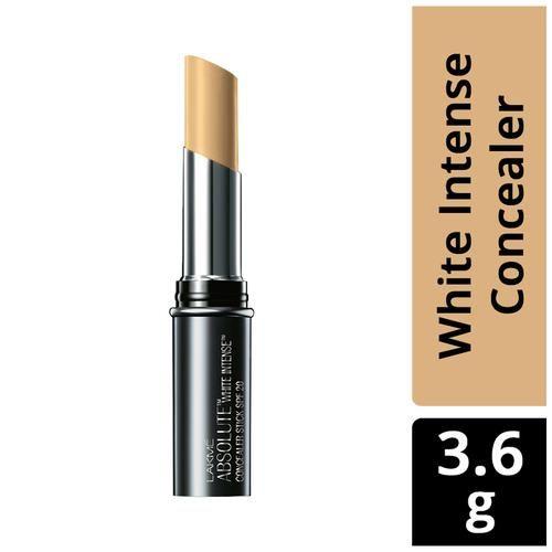 Lakme Concealer Stick - Absolute White Intense SPF 20, 3.6 g Fair 01