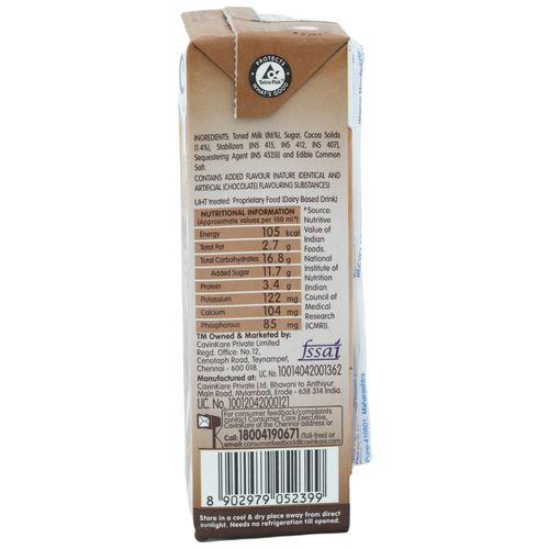 Cavins Milkshake- Chocolate, 180 ml