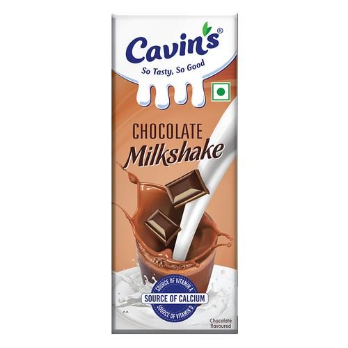Cavins Milkshake- Chocolate, 180 ml