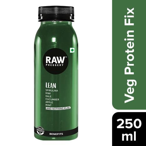 Raw Pressery 100% Natural Cold Pressed Juice -  Lean, 250 ml