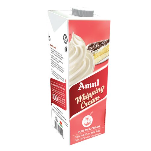 Buy Amul Whipping Cream 250 Ml Carton Online At Best Price Bigbasket